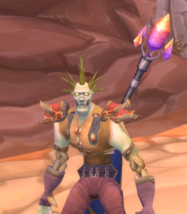 Undead Male Mage 70