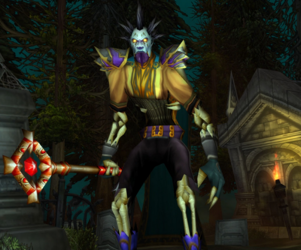 Undead mage Mage 66