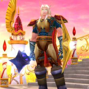 Blood Elf male Paladin 70