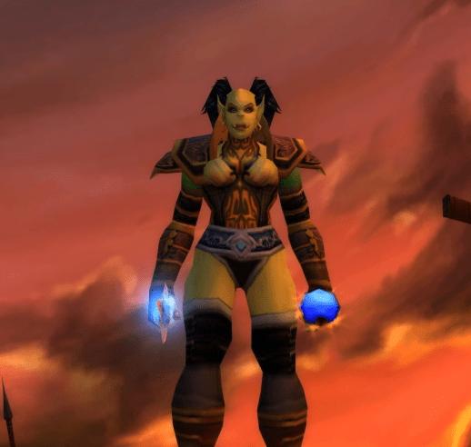Orc female Warlock 70
