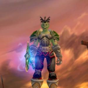 Orc female Warrior 70