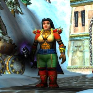 Dwarf female Priest 70