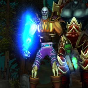 Undead male Warlock 70