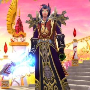 Blood Elf male Warlock 70